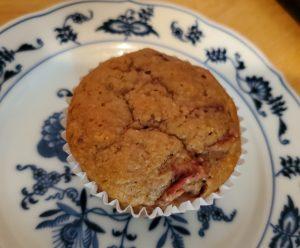Easy Keto Strawberry Muffin