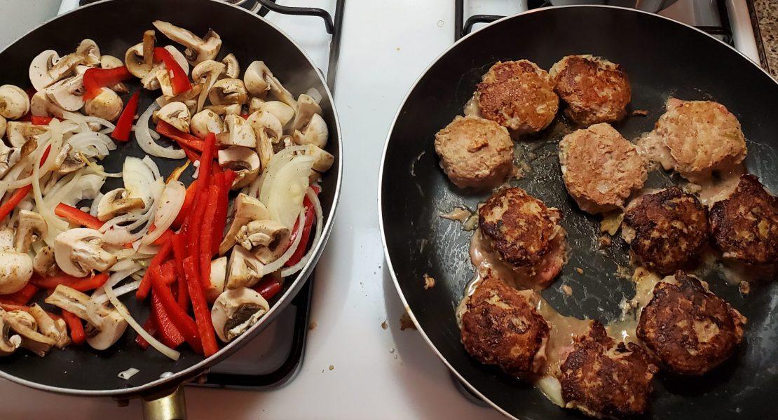 Danish Meat Balls and Veggie Mix
